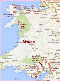 where is wales on the map castles of northern wales part i the independent tourist