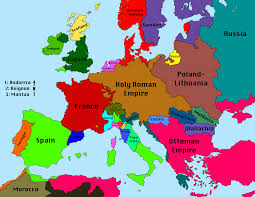 Europe Google Maps by Political Map Of Europe 1680 Google Search European Explorers