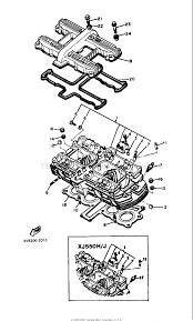 yamaha maxim xj550 cylinder head cover 2 interior bolts for sale