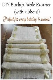 burlap christmas table runner diy christmas burlap table runners the birch cottage