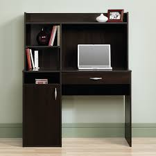 Sauder Harbor View Computer Desk With Hutch by Amazon Com Sauder Beginnings Desk With Hutch Cinnamon Cherry