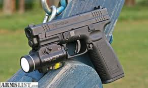springfield xd tactical light armslist for sale springfield xdm 9mm compact with streamlight