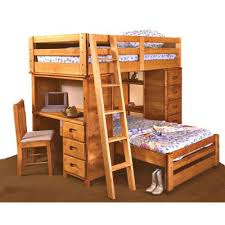 Palomino Cinammon Rustic Loft Bed RC Willey Furniture Store - Bedroom sets at rc willey