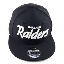 Raiders American Flag Word Mark Oakland Raiders Snapback Craze Fashion