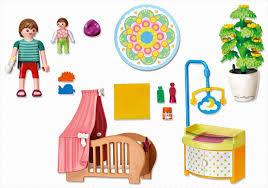 chambre bébé playmobil playmobil dollhouse 5334 pas cher chambre de bébé avec berceau
