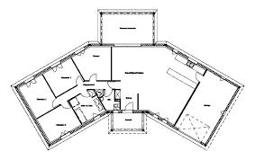 plan maison 4 chambres plan maison plain pied 4 chambres