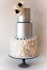 silver wedding cakes atlanta wedding cake trends for 2015 it s a sweet bakery