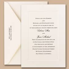 classic wedding invitations the do s and don ts of wedding invitations