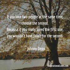 Johnny Depp Quote On Love by Reality Inspirational Quotes