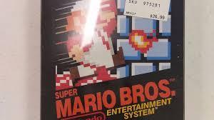 super rare copy u0027super mario bros u0027 sells 30 000