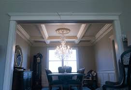 White Slipcover Dining Chair Coffered Ceiling Photos Parson Chair Skirted Slipcover Luxurious