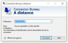 commande bureau a distance connexion au bureau du raspberry depuis un pc windows