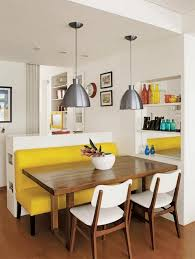 banquette de cuisine inspiration chaises depareillees banc banquette cuisine intérieur