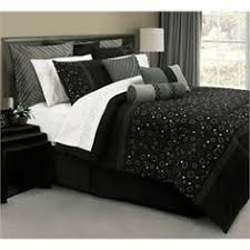 black and silver duvet set by home bedroom decor ideas