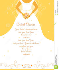 Wedding Invitation Card Messages Bridal Shower Wedding Invitation Royalty Free Stock Photos