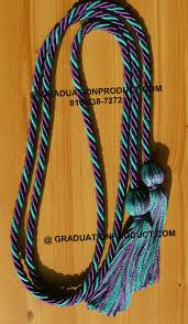 graduation cord purple teal intertwined graduation honor cords from grauduation