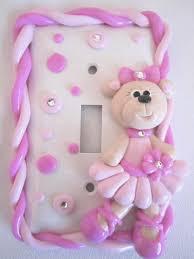bear light switch covers ballerina bear light switch cover www starkyart com starky art