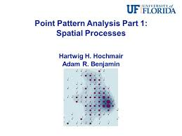 pattern of analysis point pattern analysis part 1 spatial processes youtube