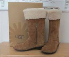 ugg womens karyn boot ugg australia suede med 1 in to 2 3 4 in boots for ebay