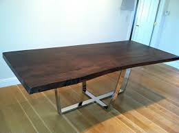 Contemporary Dining Table Base Modern Picnic Table Desk Meeting Table Console Simple With Rustic