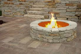 Stone Firepit by Fire Ground One