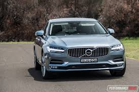 2017 volvo s90 d5 inscription review video performancedrive