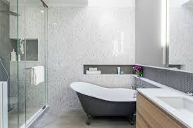 bathroom feature tile ideas fancy mosaic tile feature bathroom for your small home remodel