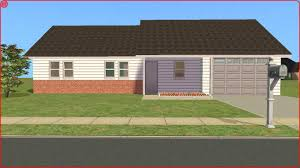 sims 2 lot downloads unfurnished starter ranch