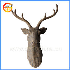 Fake Deer Head Wall Mount Wooden Deer Head Wooden Deer Head Suppliers And Manufacturers At