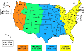 us map with state abbreviations and time zones of us time zones with the state names usa time zone map with