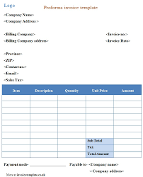 sle invoice contract work professional proforma invoice template exceltemple excel project