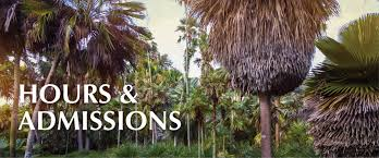 Botanical Gardens Ticket Prices Fairchild Tropical Botanical Garden Miami Hours And Directions