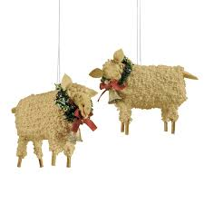 joe spencer sheep ornament country ornaments