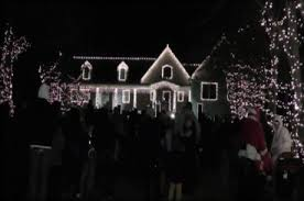 wall christmas light show overcrowding forces organizers to pull the plug on christmas light