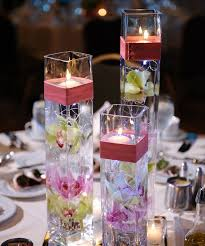 candle centerpiece wedding floating candle and flower centerpieces for weddings floating