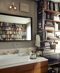 Lighting For Bookshelves by 15 Ingenious Bathrooms That Embrace Your Love For Books