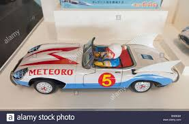 friction driven speed racer japanese manga character tin toy