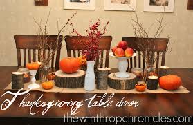 the winthrop chronicles thanksgiving table decor fall