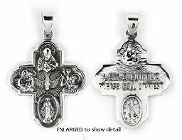 catholic medals catholic jewelry 4 way medal cross pendant i am catholic call a