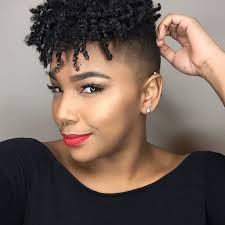 short haircuts for naturally curly black hair hairstyle ideas for short natural hair essence com
