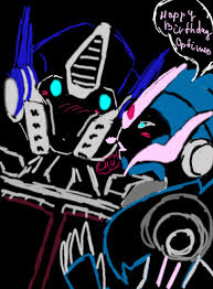 optimus prime birthday arcee happy birthday prime by shikutoki on deviantart