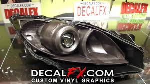 how to open u0026 paint headlights by decalfx com youtube