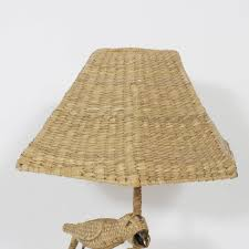 Wicker Light Fixture by Mario Torres Wicker Table Lamp At 1stdibs
