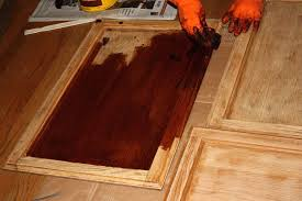 Easiest Way To Paint Cabinets Chalk Paint To Refinish Kitchen Cabinets Image Of Stain For