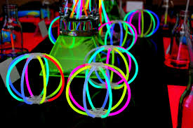 glow in the party decorations creative glow party decorations ideas decor modern on cool