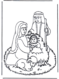 manger coloring page 409780