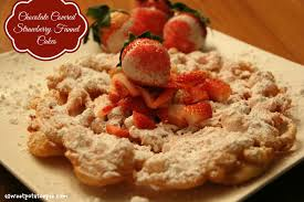 chocolate chip funnel cake recipe good food recipes
