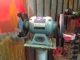 8 Bench Grinders Need A Bench Bench Grinder On Steroids Rusty Knuckles Motors
