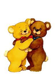 imagenes animadas oso los osos se abrazan abrazos pinterest animes de amor amor