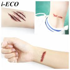 halloween makeup stickers compare prices on injury makeup online shopping buy low price
